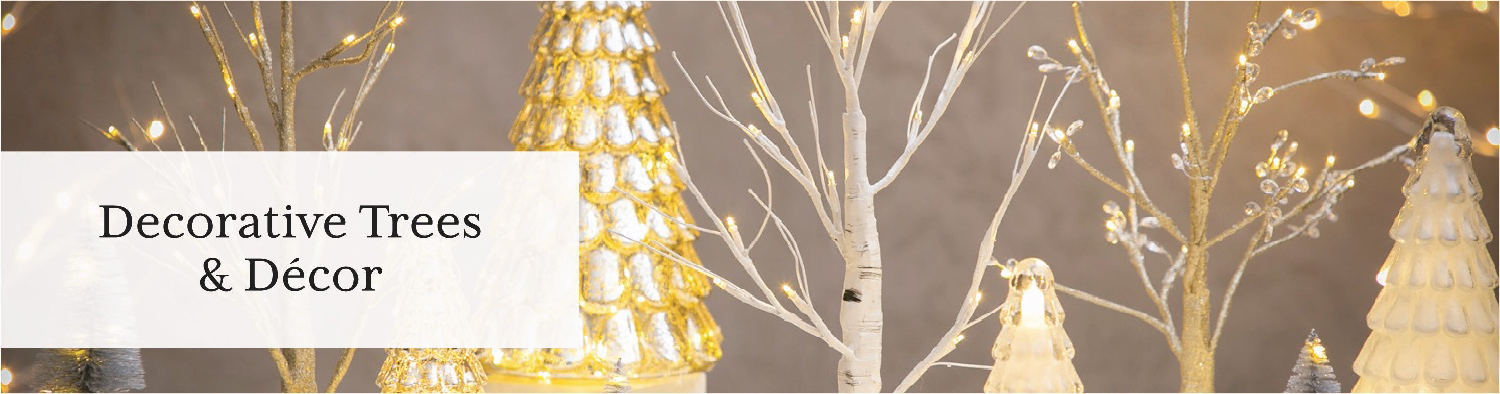 Decorative Trees & Decor